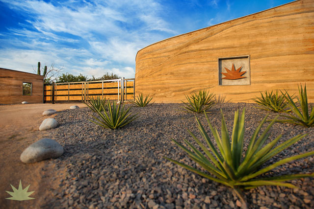 rammed earth architecture baja sur
